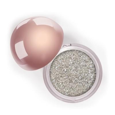 "Сияющий блеск для век ""Глиттер"" Crystalized Glitter LASplash Platinum Fizz: фото"