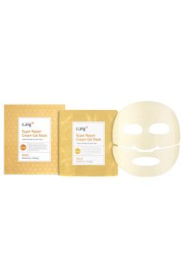 Гидрогелевая восстанавливающая маска с экстрактом золота Llang, 25 гр*5: фото