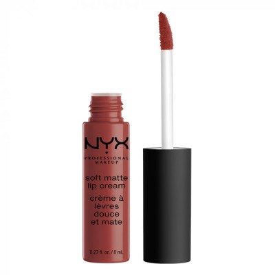 Жидкая помада NYX Professional Makeup Soft Matte Lip Cream - ROME 32: фото