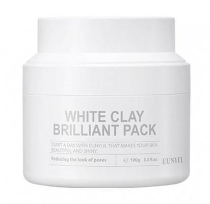 Маска очищающая с белой глиной EUNYUL White clay brilliant pack 100 мл: фото