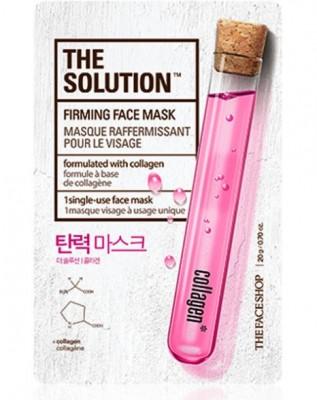 Тканевая маска укрепляющая THE FACE SHOP The Solution Firming Face Mask: фото
