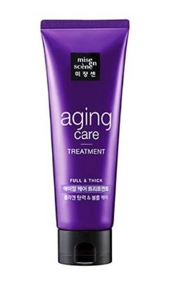 Антивозрастная маска для волос MISE EN SCENE Aging Care Treatment Pack: фото