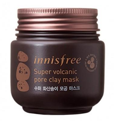 Маска очищающая интенсивная с вулканической глиной INNISFREE Super Volcanic Pore Clay Mask: фото