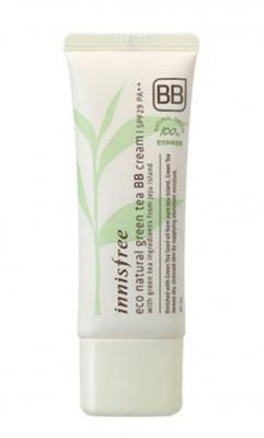 BB-крем с зеленым чаем INNISFREE Eco Natural Green Tea BB-Cream SPF29 №2 Natural Beige: фото