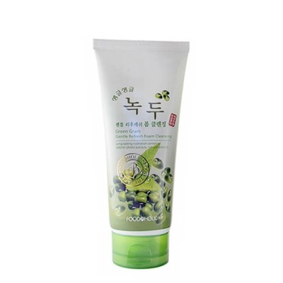 Пенка для умывания FoodaHolic Green Gram Gentle Refreshing Foam Cleansing, 180мл, FoodaHolic: фото