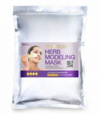 Альгинатная маска с лавандой LINDSAY Premium herb lavender modeling mask pack Zipper 1кг: фото