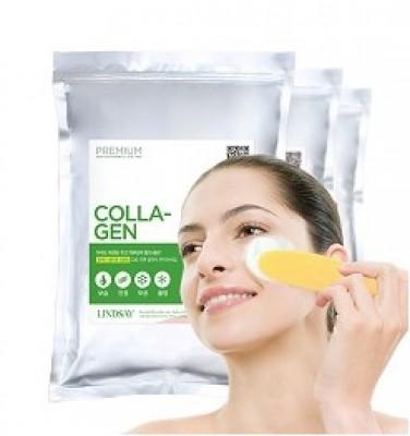 Альгинатная маска с коллагеном LINDSAY Premium collagen modeling mask pack zipper 1000г: фото