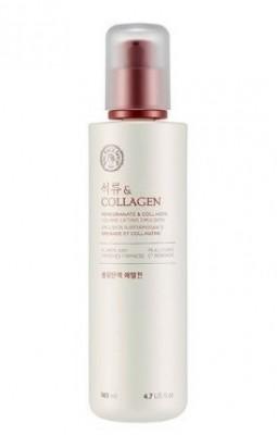 Эмульсия с эффектом лифтинга THE FACE SHOP Pomegranate and collagen volume lifting emulsion 140 мл: фото