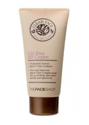 ВВ-крем для жирной кожи THE FACE SHOP Clean face oil control blemish balm 35 мл: фото