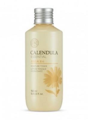Тонер для лица с экстрактом календулы THE FACE SHOP Calendula essential moisture toner 150 мл: фото