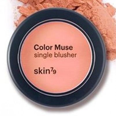 Румяна SKIN79 Color muse single blusher #Orange: фото