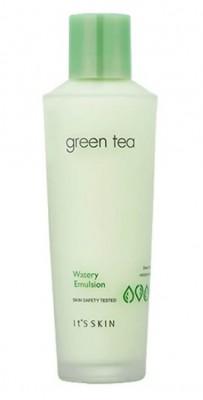 Эмульсия для лица с зеленым чаем It'S SKIN Green tea watery emulsion 150 мл: фото