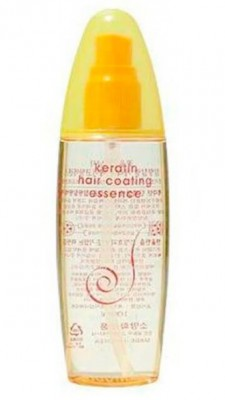 Восстанавливающая эссенция с кератином COSMOCOS Keratin silkprotein hair coating essence 100мл: фото