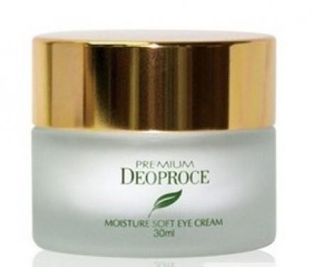 Крем для век с зеленым чаем DEOPROCE Premium green tea total solution eye cream 30мл: фото