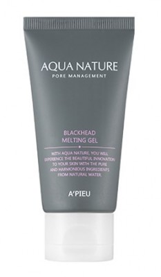Гель очищающий с тающей текстурой A'PIEU Aqua Nature Blackhead Melting Gel 50мл: фото