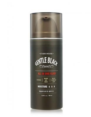 Флюид для мужской кожи ETUDE HOUSE Gentle Black All In One Fluid: фото