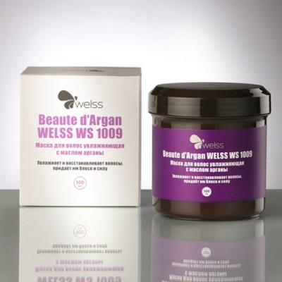 Маска для волос увлажняющая с маслом арганы WELSS Beaute d`Argan 500мл: фото
