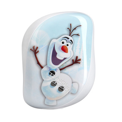Расческа TANGLE TEEZER Compact Styler Disney Olaf белый: фото