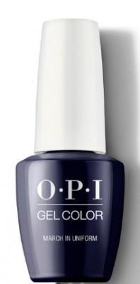 Гель для ногтей OPI GelColor March in Uniform HPK04: фото