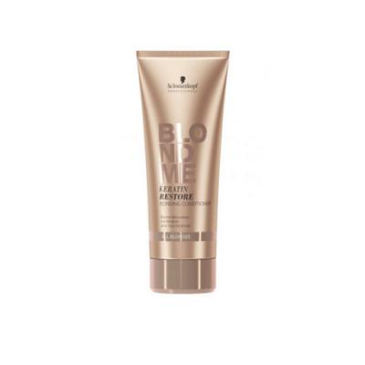 Бондинг-кондиционер кератиновое восстановление для волос блонд Schwarzkopf Professional, Blondme 200 мл: фото