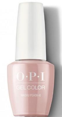 Гель для ногтей OPI GelColor Peru Machu Peach-u GCP36: фото