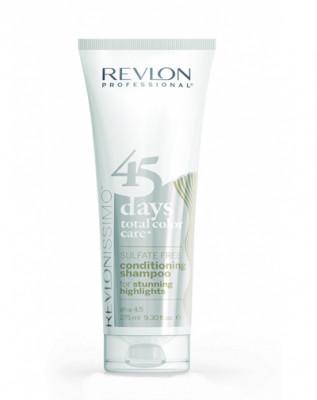 Шампунь-кондиционер для мелированных волос Revlon Professional RCC Shampoo&Conditioner Highlights 275 мл: фото