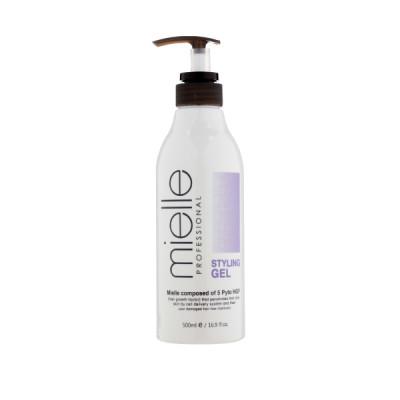 Гель для укладки волос JPS Mielle Professional NATURAL FIX GEL, 500мл,: фото