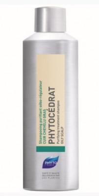 Шампунь себорегулирующий для жирных волос PHYTOSOLBA Phytocedrat 200мл: фото