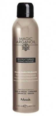 Мусс для укладки волос средней фиксации NOOK Магия Арганы Restructuring Fixing Mousse 250 мл: фото