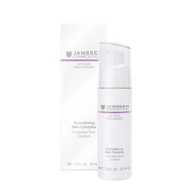 Нормализующий концентрат для жирной кожи Janssen Cosmetics Normalizing Skin Complex 30мл: фото