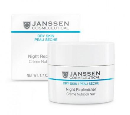 Крем ночной питательный регенерирующий Janssen Cosmetics Night Replenisher 50 мл: фото