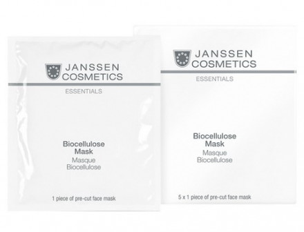 Маска-лифтинг интенсивно увлажняющая биоцеллюлозная Janssen Cosmetics Biocellulose Mask 1шт: фото