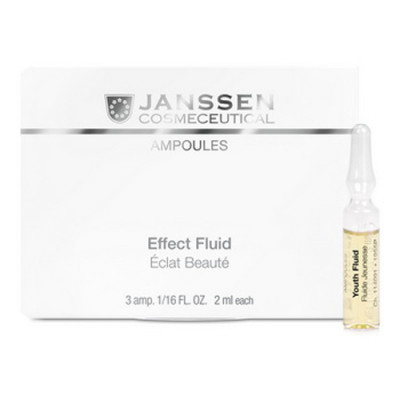 Сыворотка ревитализирующая в ампулах Janssen Cosmetics Youth Fluid7*2мл: фото