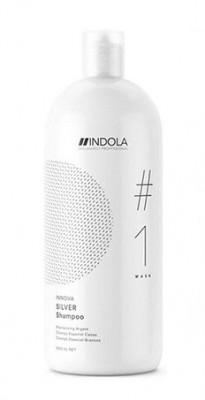 Шампунь нейтрализирующий Indola Care Color Shampoo Silver 1500 мл: фото