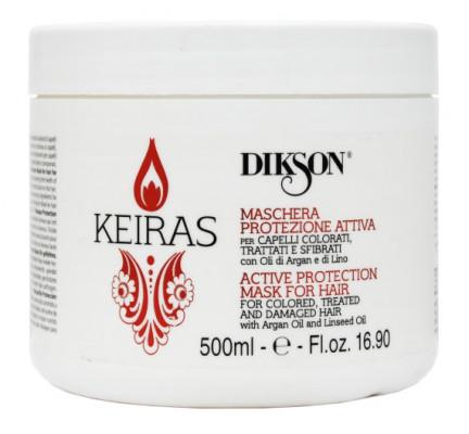 Маска Активная Защита для окрашенных волос Dikson Keiras MASCHERA PROTEZIONE ATTIVA 500мл: фото
