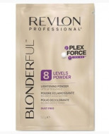 Нелетучая Осветляющая пудра Revlon Professional BLONDERFUL 8 LIGHTENING POWDER 50г: фото