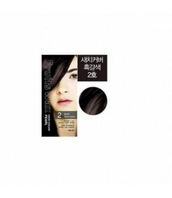 Краска для волос на фруктовой основе Welcos Fruits Wax Pearl Hair Color #02 60мл*60гр: фото