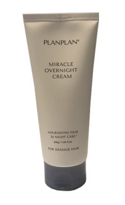 Крем для волос многофункциональный XENO Planplan Miracle Overnight Cream 200г: фото