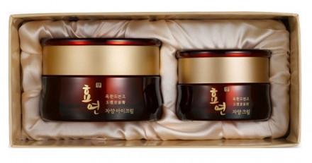 Набор для лица антивозрастной Welcos Hyo Yeon Jayang Eye Cream Set 30мл+15мл: фото