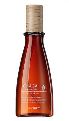 Флюид антивозрастной с экстрактом чаги THE SAEM CHAGA Anti-wrinkle Skin 160мл: фото