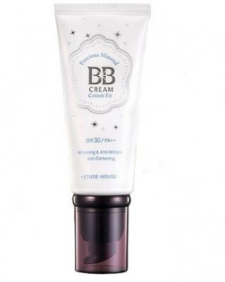 BB-крем минеральный ETUDE HOUSE Precious Mineral BB Cream Cotton Fit #W24 60г: фото