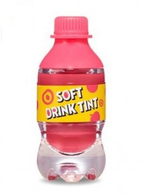 Тинт для губ ETUDE HOUSE Soft Drink Tint #PK001 Peach Tok Tok Tok: фото