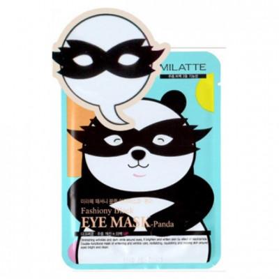 Набор масок для кожи вокруг глаз Milatte Fashiony Black Eye Mask-Panda Панда 10 шт: фото