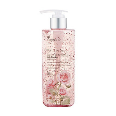 Гель для душа с парфюмерными капсулами The Face Shop Perfume Seed Capsule Body Wash 300 мл: фото