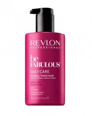 Кондиционер ежедневный уход для нормальных/густых волос Revlon Professional BF D. NORMAL CREAM CONDITIONER 750мл: фото
