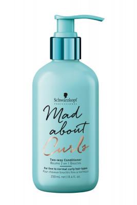 Кондиционер для тонких и нормальных волос Schwarzkopf Professional Mad About Curls Two-Way Conditioner 250мл: фото