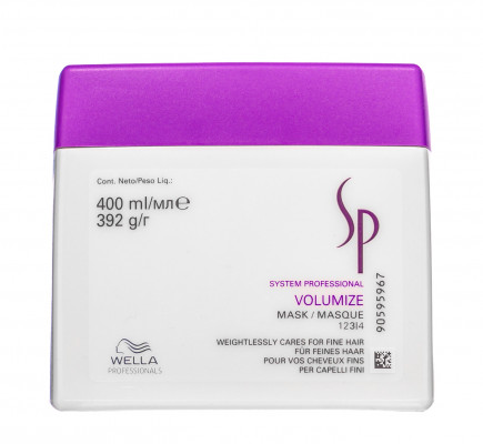 Маска для придания объема System Professional Volumize Mask 400 мл: фото
