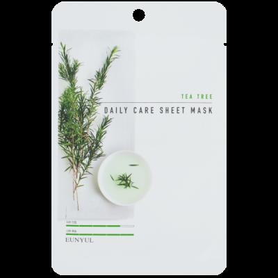 Тканевая маска с чайным деревом EUNYUL TEA TREE DAILY CARE SHEET MASK 22г: фото