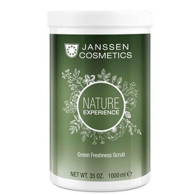 Скраб для тела обновляющий с экстрактом торфа Janssen Cosmetics Green Freshness Scrub 1000 мл: фото