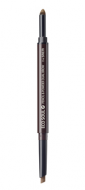Карандаш-пудра для бровей THE SAEM Eco Soul Pencil&Powder Dual Brow 04 Medium Brown 0,5гр*0,3гр: фото